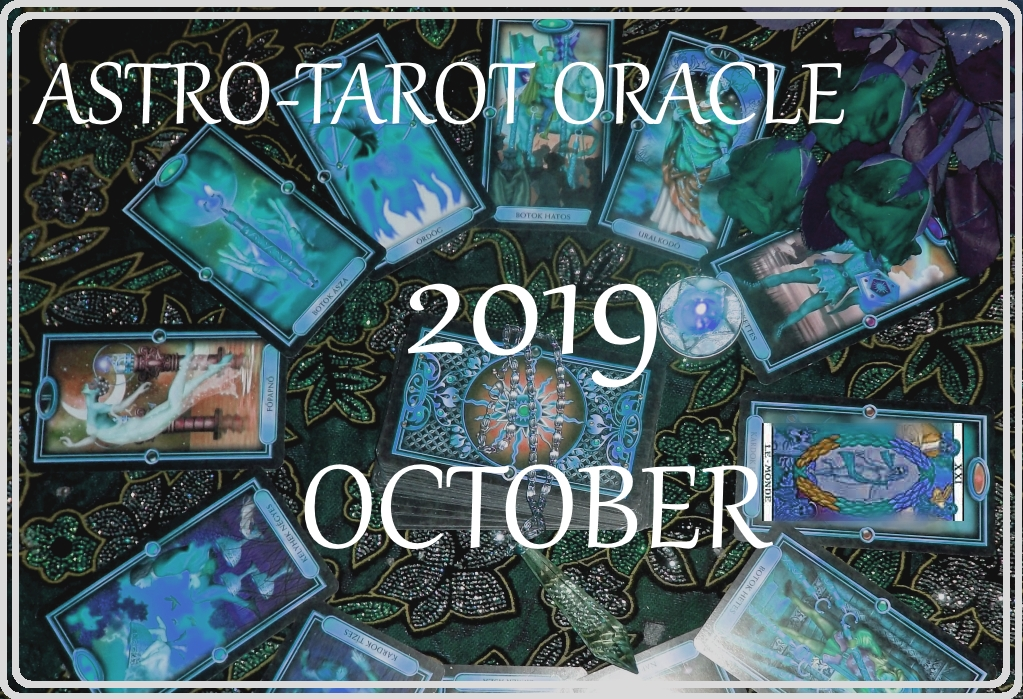 October Horoscope 2019 – Your Astro-Tarot Oracle with James Lynn Page